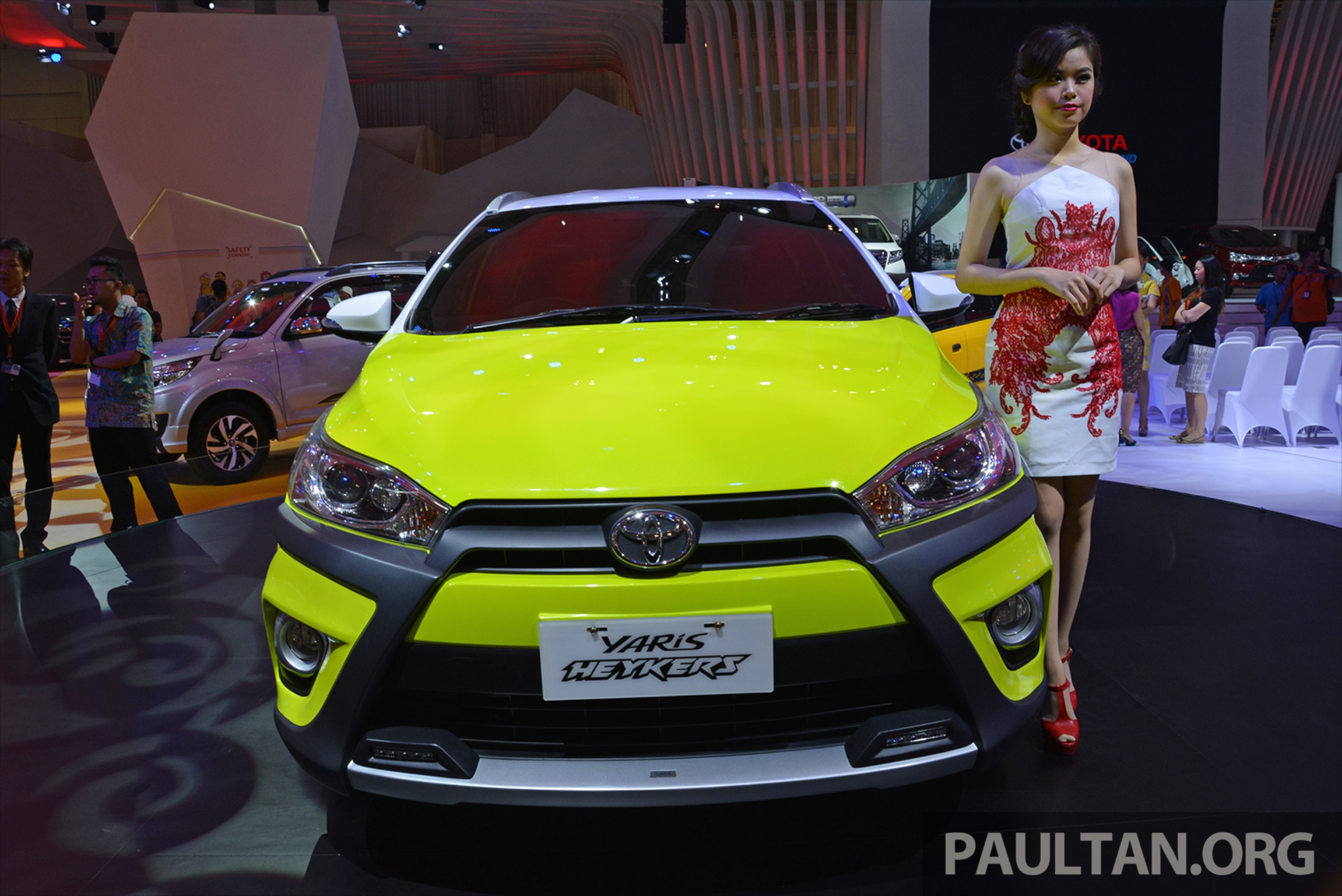 toyota yaris trd heykers grand new avanza veloz modifikasi giias 2015 concept suv looks paul