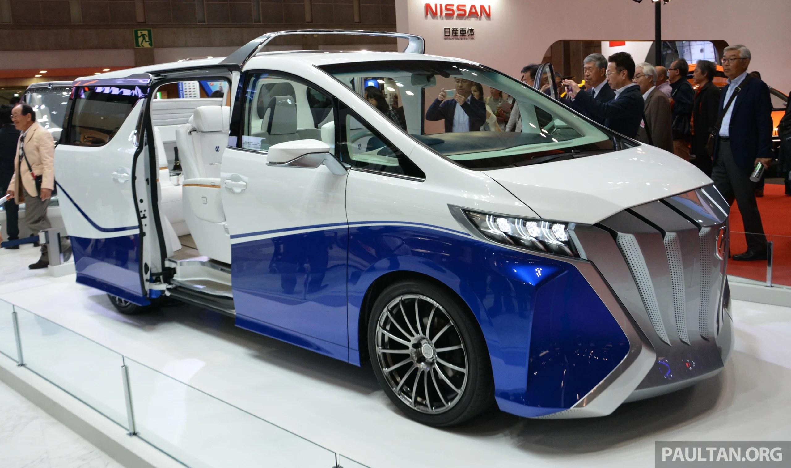 all new alphard 2019 grand avanza type g 1.3 tokyo 2015 toyota auto body hercule debuts paul