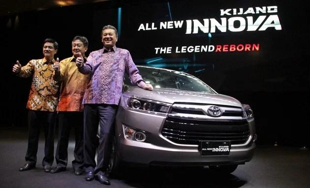 all new kijang innova the legend reborn oli untuk grand avanza 2016 toyota facelift already a work in progress