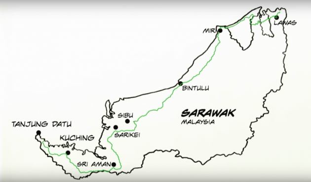 Pan Borneo Highway in Sarawak to be ready by 2023
