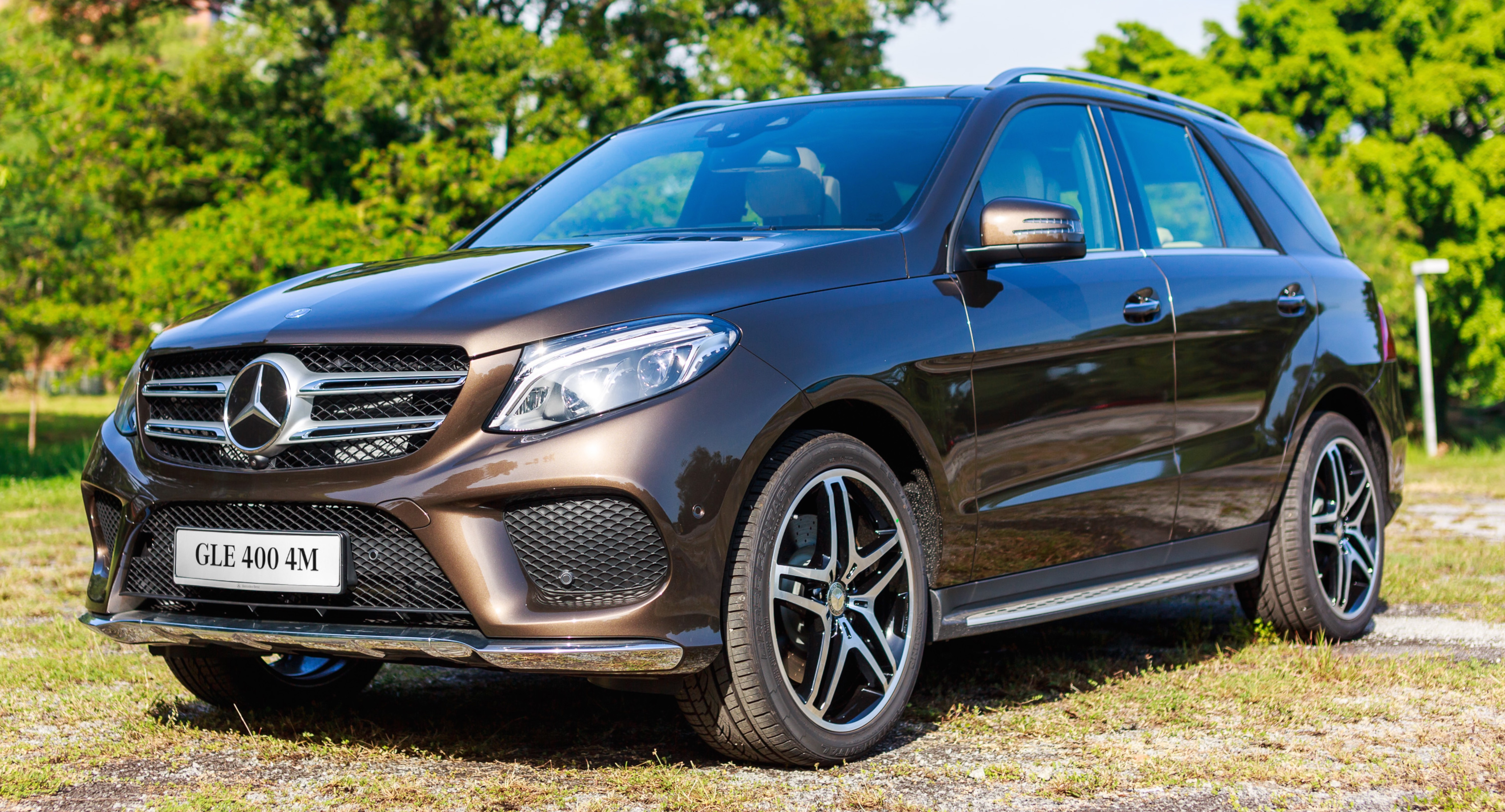 Mercedes Benz GLE 400 GLE 250 D Debut In Malaysia Paul
