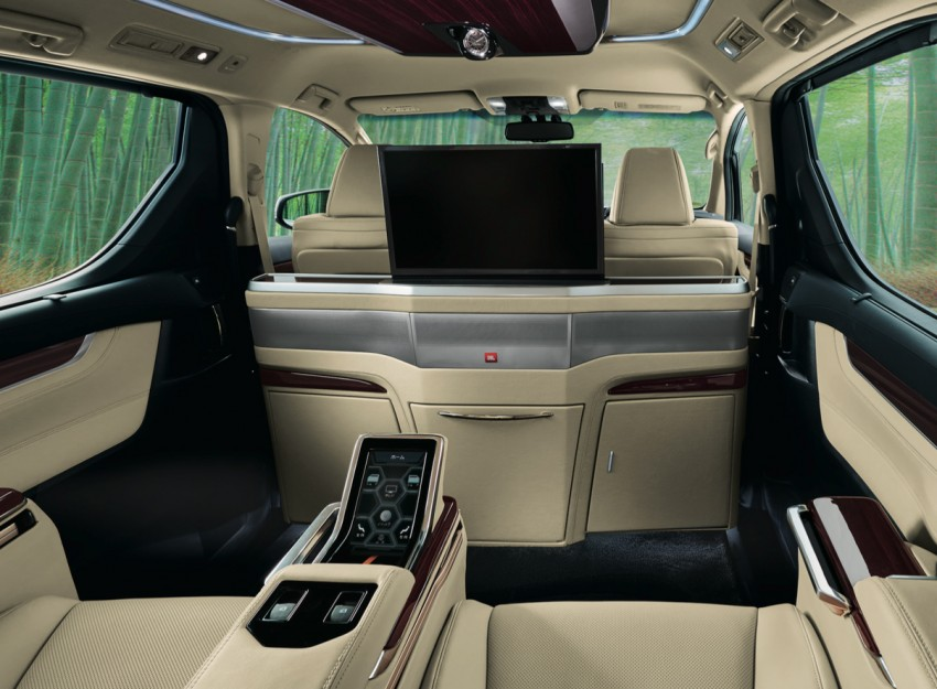 interior all new alphard 2018 agya trd hitam toyota and vellfire royal lounge variants paul ...