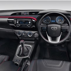 Interior New Agya Trd All Alphard Bandung Toyota Hilux Sportivo Introduced In Bangkok Image