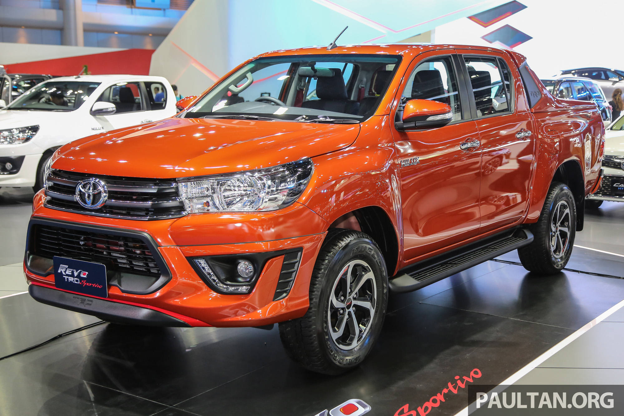 new yaris trd sportivo 2018 toyota hilux introduced in bangkok image