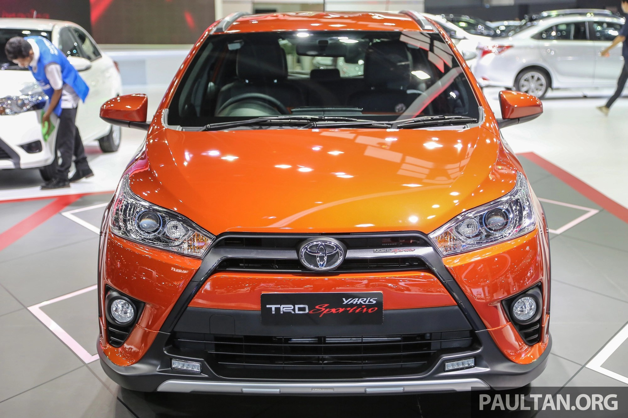 toyota yaris trd sportivo manual perbedaan all new kijang innova g dan v gallery at bangkok 2016 image