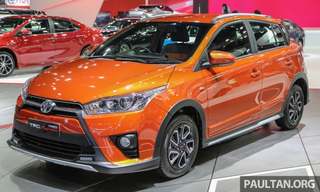 new yaris trd toyota vitz turbo step 2 gallery sportivo at bangkok 2016