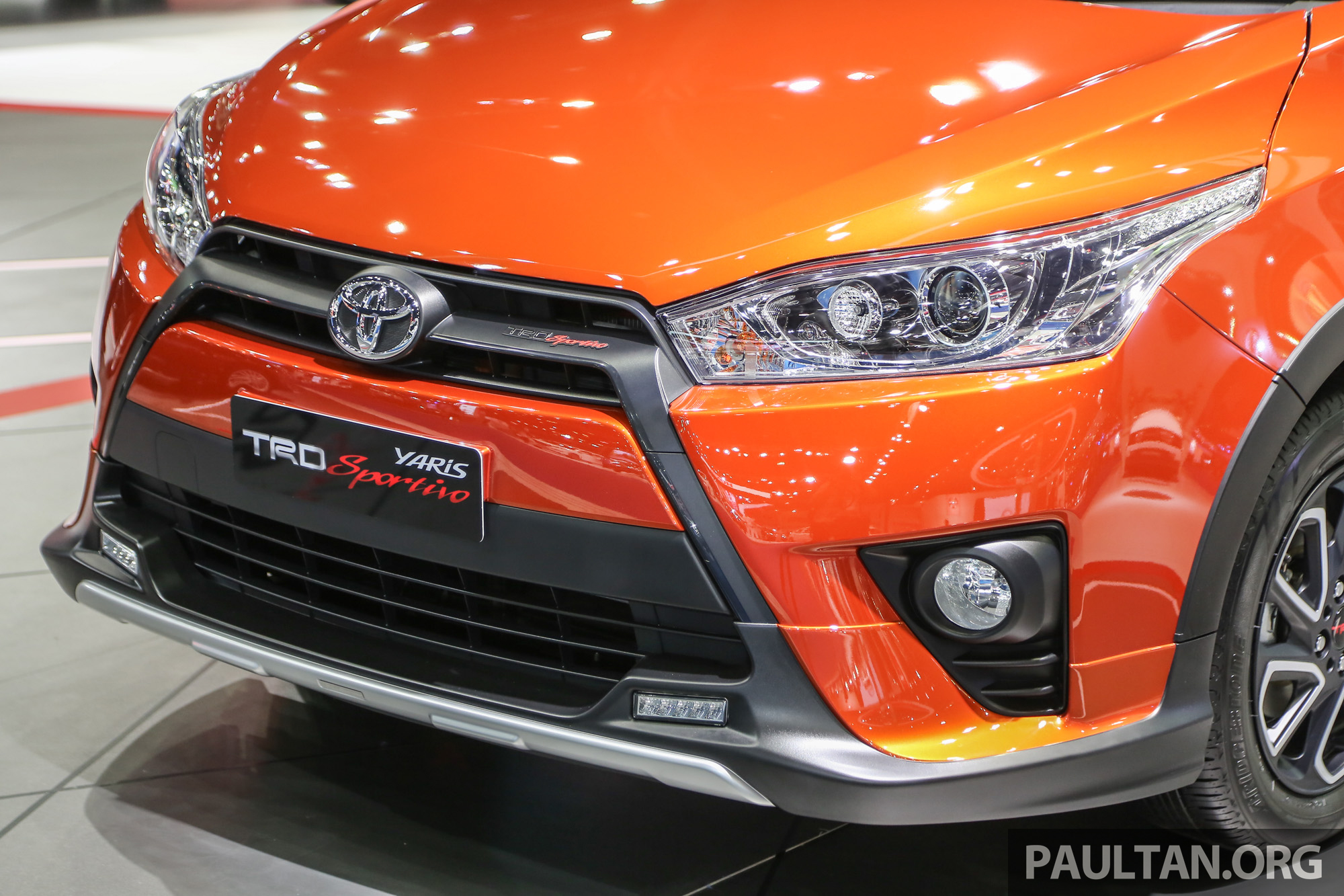 toyota yaris trd all new alphard bandung gallery sportivo at bangkok 2016 paul