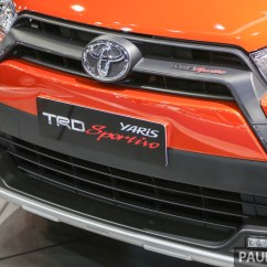 Toyota Yaris Trd Sportivo Manual New Agya Gallery At Bangkok 2016 Paul