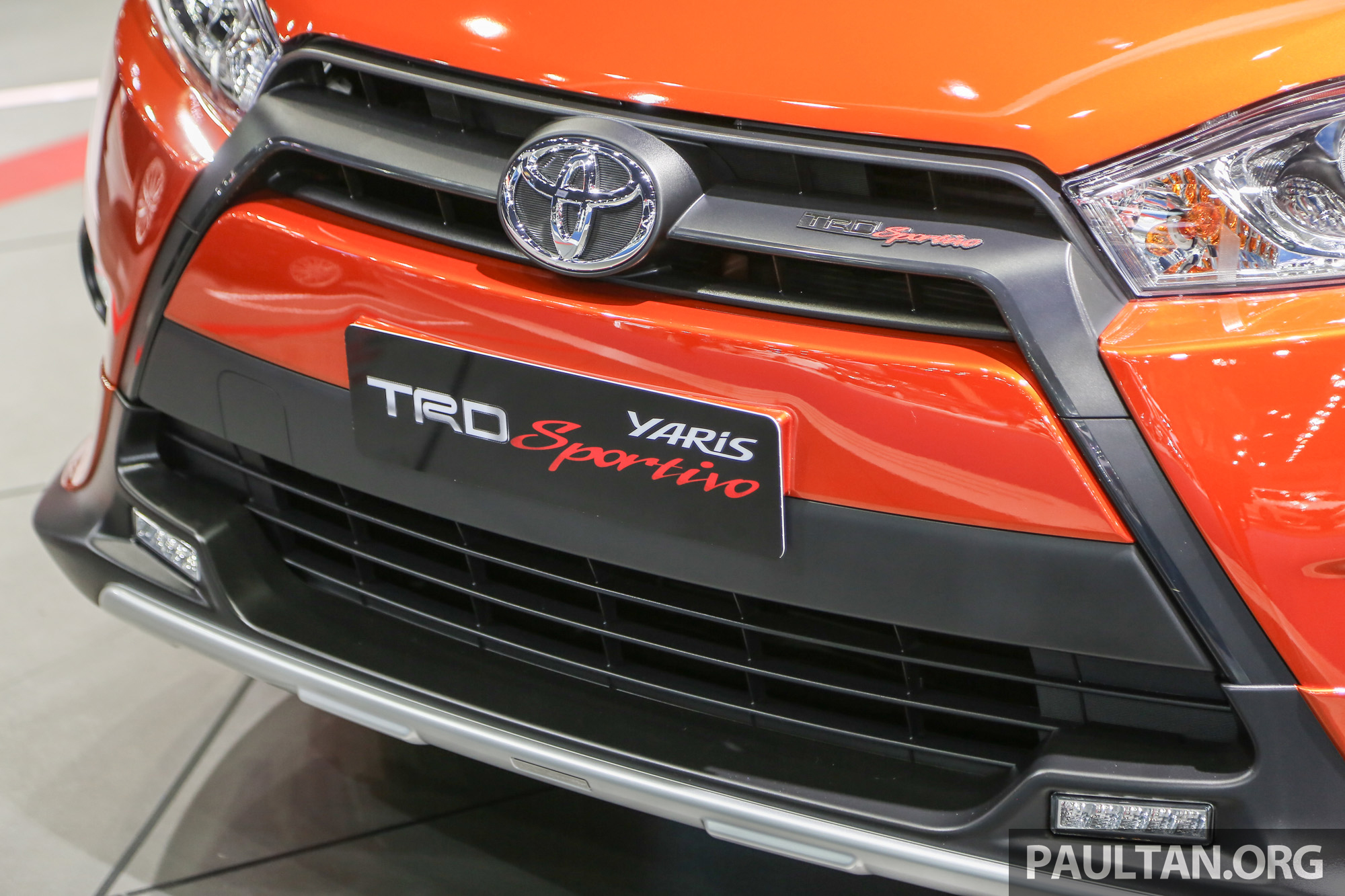 toyota yaris trd filter udara grand new avanza gallery sportivo at bangkok 2016 paul