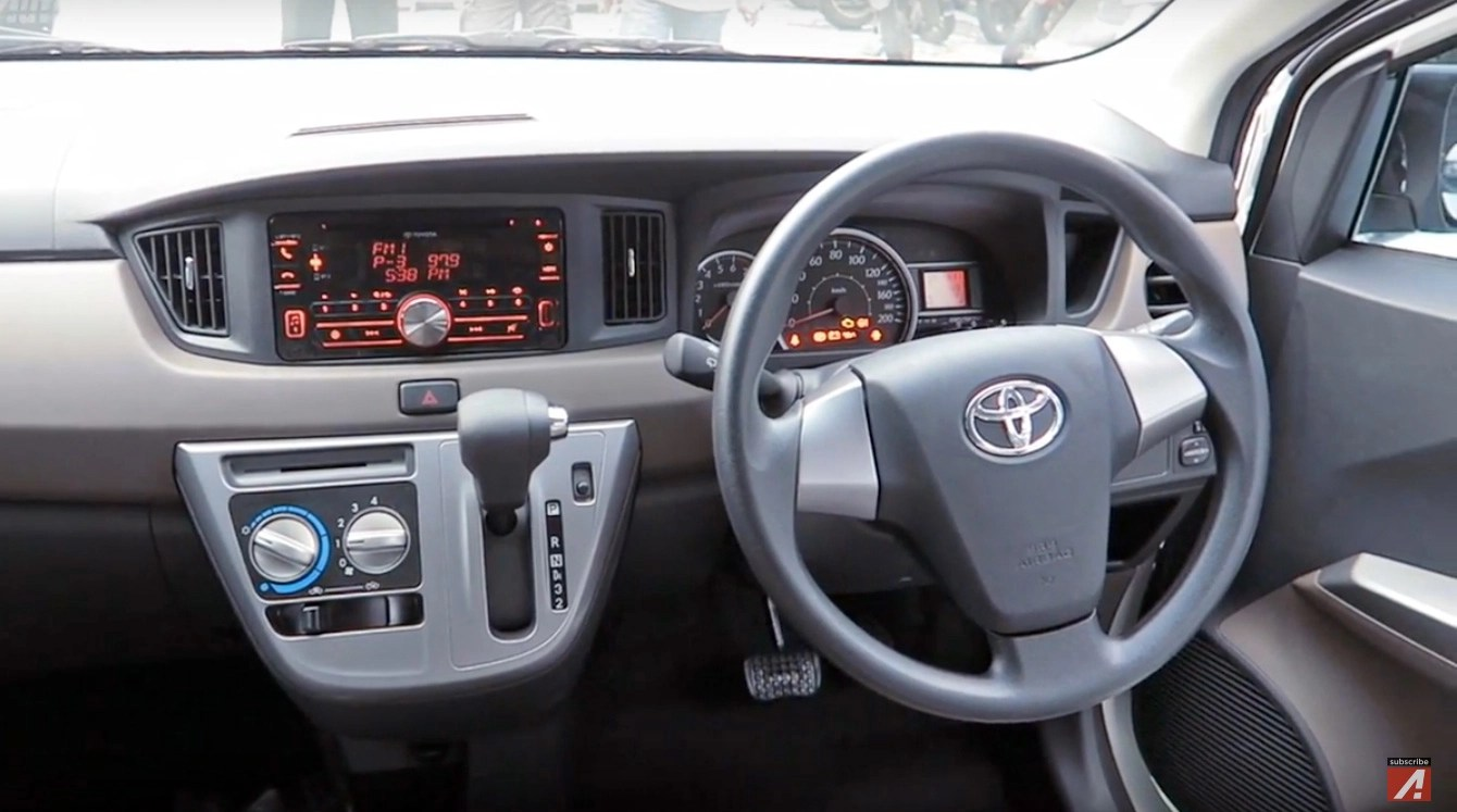 Toyota Calya  new 7seat LCGC MPV for Indonesia Axia