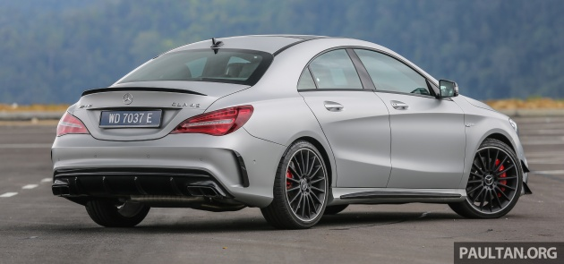 GALLERY Mercedes AMG CLA45 FL From RM409k