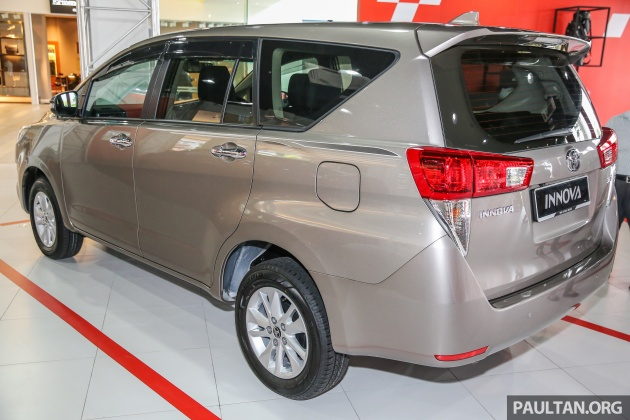 harga otr all new kijang innova grand avanza 1.3 e std m/t toyota launched in malaysia from rm106k 7 airbags esc mop ext 3