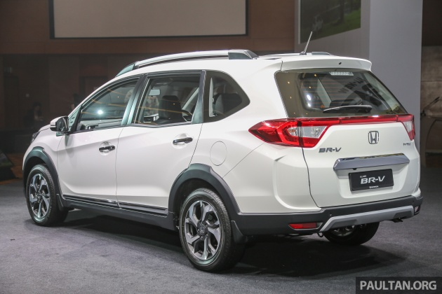 grand new veloz vs brv kompresi avanza 2016 honda br v 1 5l launched in malaysia from rm85 800 however the malaysian spec differs those sold indonesia thailand philipines and india as we do get our own unique damper settings