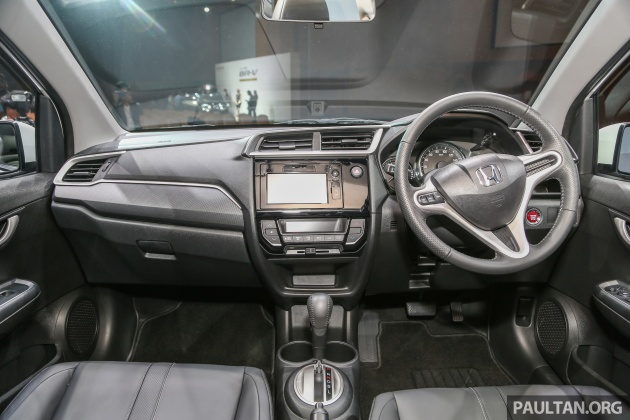 Honda BRV 15L dilancarkan di Malaysia  crossover 7