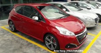 Peugeot 208 GTi facelift spotted in M'sia - Q1 launch?