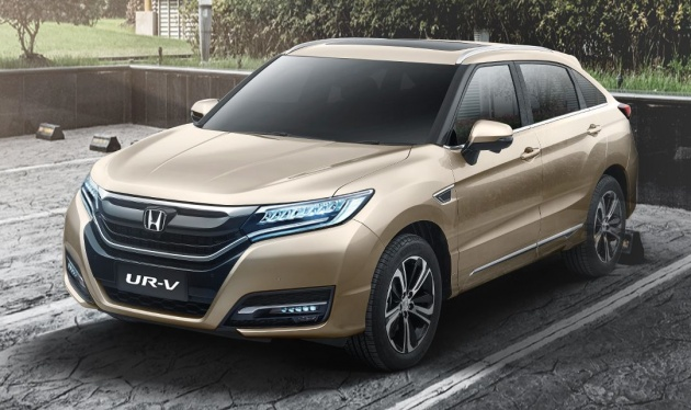 Honda UR V Launched In China Dongfengs Avancier