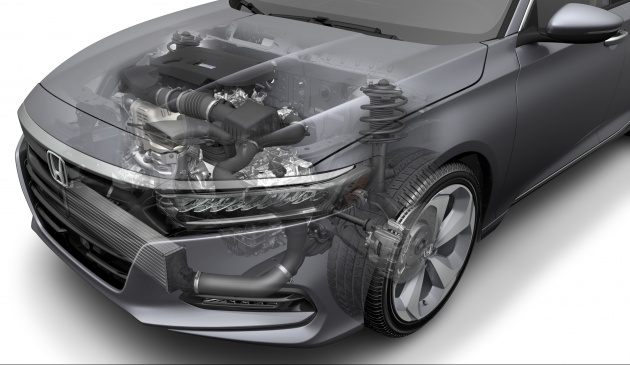 kapan all new camry masuk indonesia harga headlamp grand veloz 2018 honda accord unveiled 192 hp 1 5 and 252 2 0 turbo 10 the chassis features macpherson strut front more compact multi link rear suspension mounted to an aluminium a rigid floating