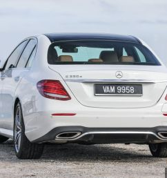 mercedes benz e350e plug in hybrid launched in m sia exclusive amg line and edition 60 from rm393k [ 1200 x 800 Pixel ]
