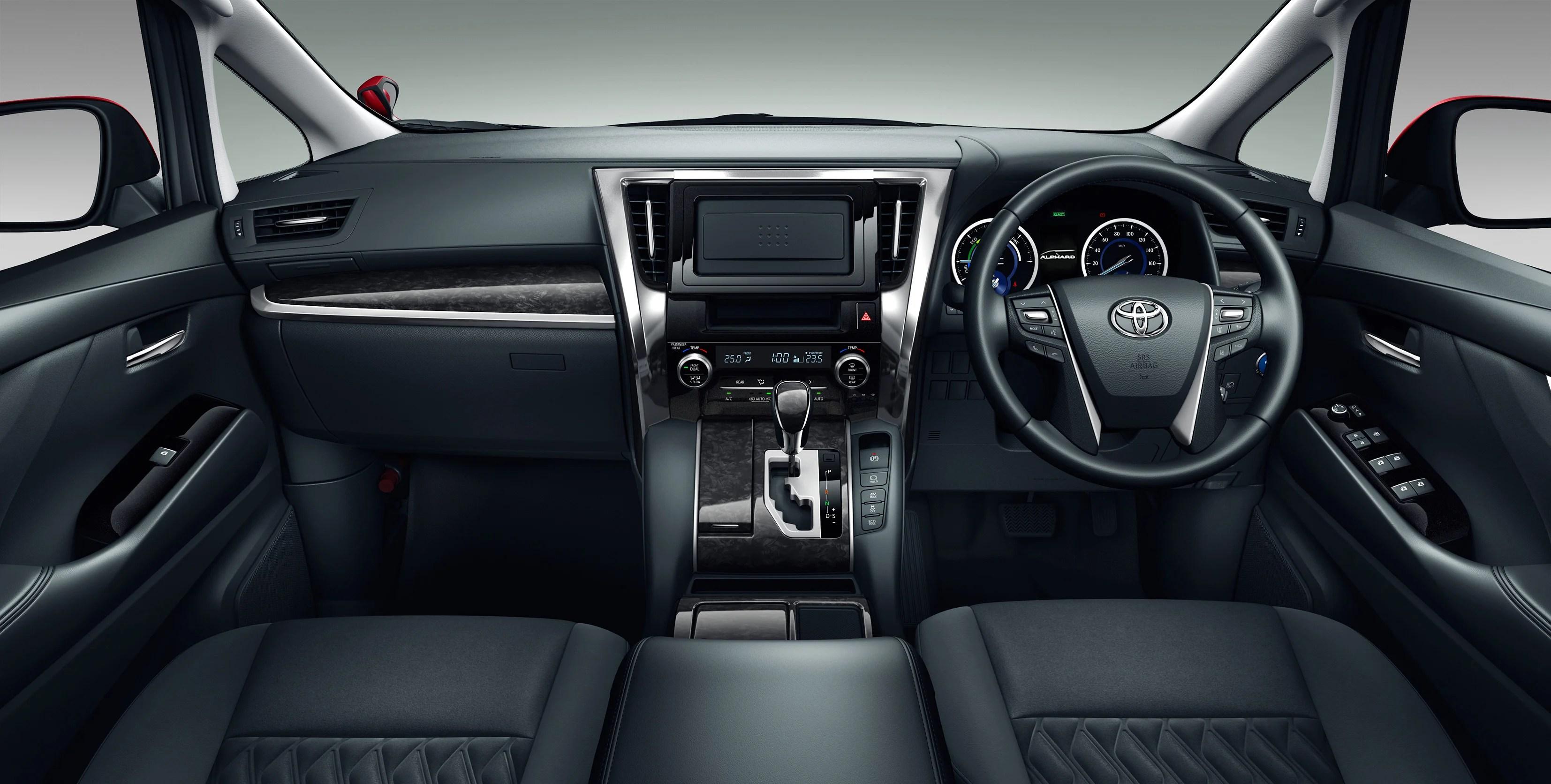 all new vellfire interior harga toyota grand avanza 2015 alphard facelift 3 5 direct injected