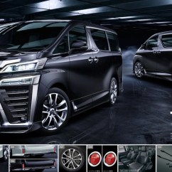 All New Alphard 2018 Harga Grand Veloz Spek Toyota Vellfire  Modellista Trd Kit