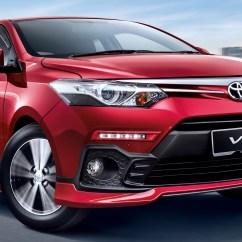 Harga New Yaris Trd 2018 Mobil Agya Toyota Vios Dipertingkat Untuk Rekaan Bodykit Baru