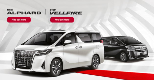 all new alphard vs vellfire toyota altis facelift prices rm351k 541k