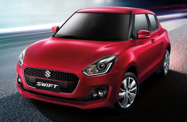 2018 suzuki swift launched