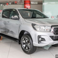 Kelebihan Grand New Avanza 2018 Speedometer Gallery Toyota Hilux L Edition 2 4l At 4x4 Variant Umw Motor Recently Launched The Refers To Luxury Marking Arrival Of Facelifted Pick Up Truck In Malaysia