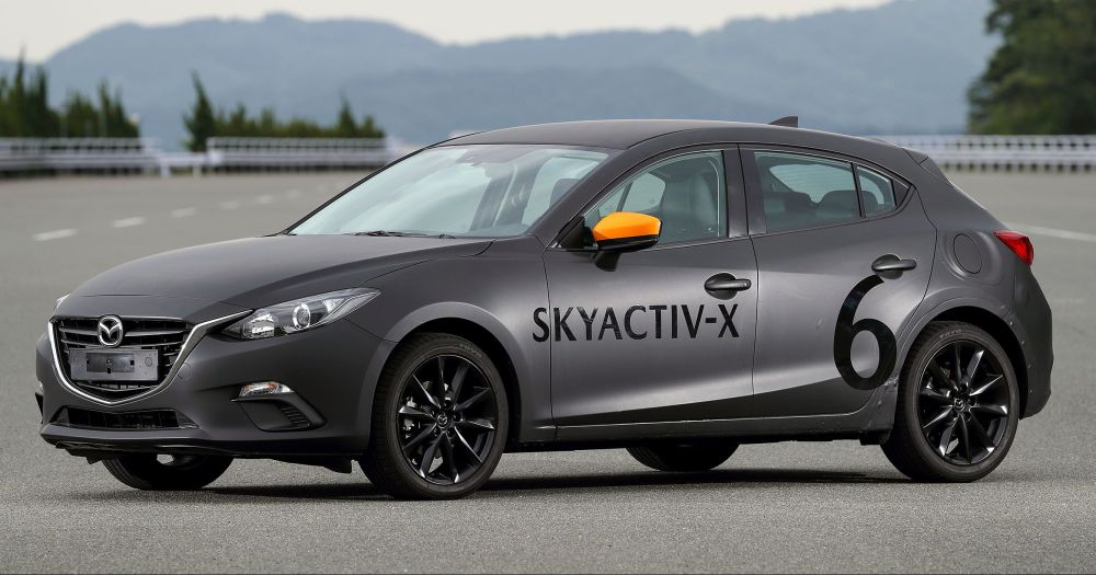 medium resolution of driven 2019 mazda 3 prototype with skyactiv x engine is a high tech petrol mill still relevant