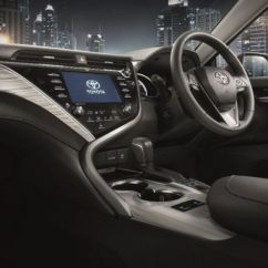 All New Camry 2019 Interior Grand Veloz Hitam 2018 Toyota Launched In Thailand Four Variants Including The Range Topper Is Only One That Gets Safety Sense Suite Of Systems Which Include Pre Collision System Lane Departure Alert Dynamic Radar