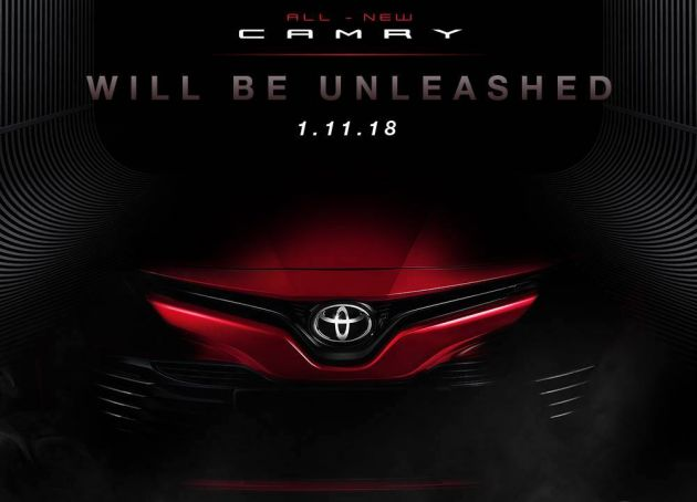 brand new toyota camry price in australia all 2018 2019 malaysia soon early details discover the monstrous beauty of reads a short teaser on facebook page clearly indicating that