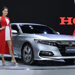 All New Toyota Camry 2019 Thailand Pajak Grand Veloz Honda Accord Previewed In Launch Aside From The Debut Of Facelifted Civic Has Also At Ongoing Thai Motor Expo Bangkok More Than A Year