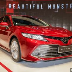All New Camry 2019 Malaysia Grand Veloz 1.5 A/t Klims18 Toyota Launched 2 5v Rm190k The Has Been Officially By Umw Motor Umwt At Kl International Show Klims 2018