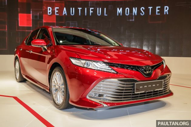 all new toyota camry jok belakang grand avanza klims18 launched 2 5v rm190k