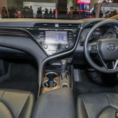 All New Camry Indonesia Fitur Grand Veloz Klims18 Toyota Launched 2 5v Rm190k Besides The 18 Inch Wheels S Exterior Kit Includes Automatic Bi Led Projector Headlamps With Turn Signals