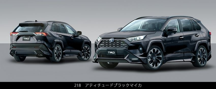 Toyota RAV4 gains TRD and Modellista parts in Japan Paul