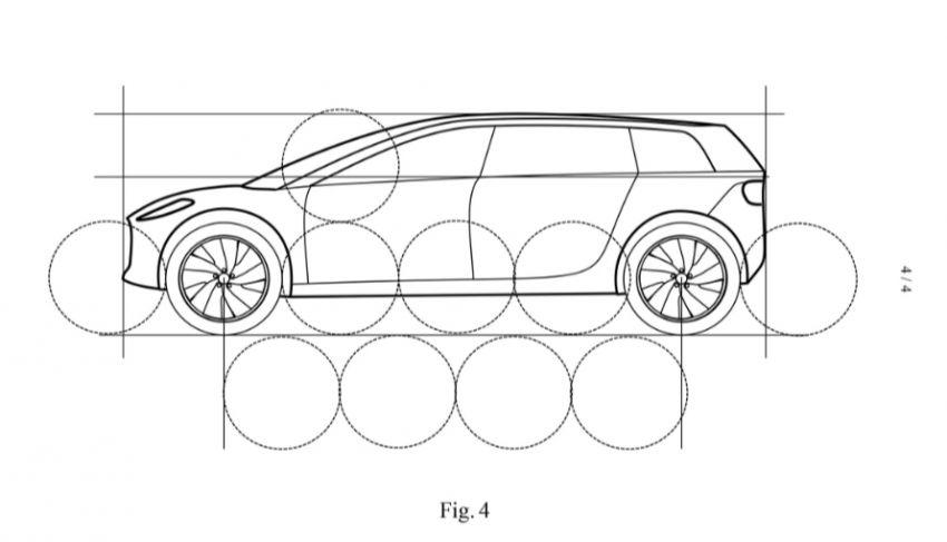 Dyson EV patents show crossover design; aluminium