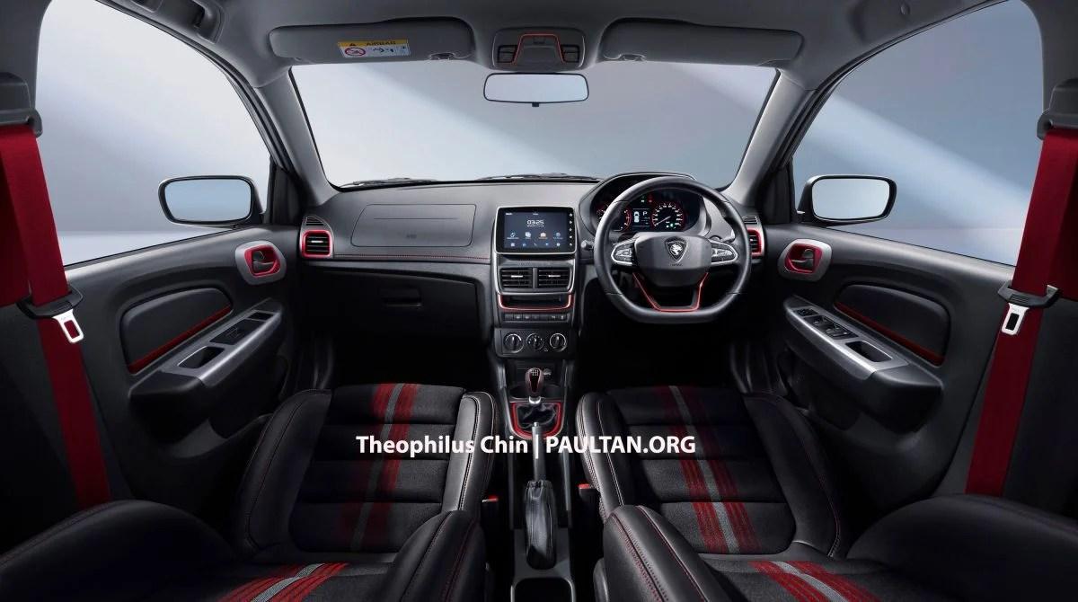 Proton Saga R3 Concept Based On Facelift Imagined Paul Tan