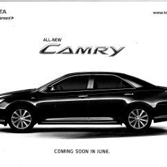 All New Camry Thailand Ram Radiator Grand Avanza Toyota  Brochure Leaked And Pix Of Thai Market