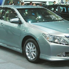 All New Toyota Camry Thailand  Brochure Leaked And Pix Of Thai Market