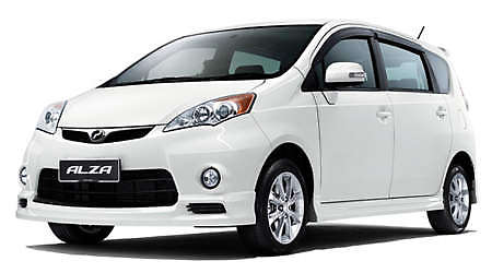 Perodua Alza Advanced Version - extra equipment