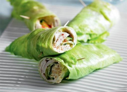 Gluten-Free Turkey Wrap