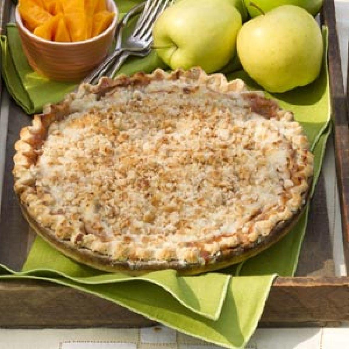 crumb topped apple pie recipe just a pinch recipes