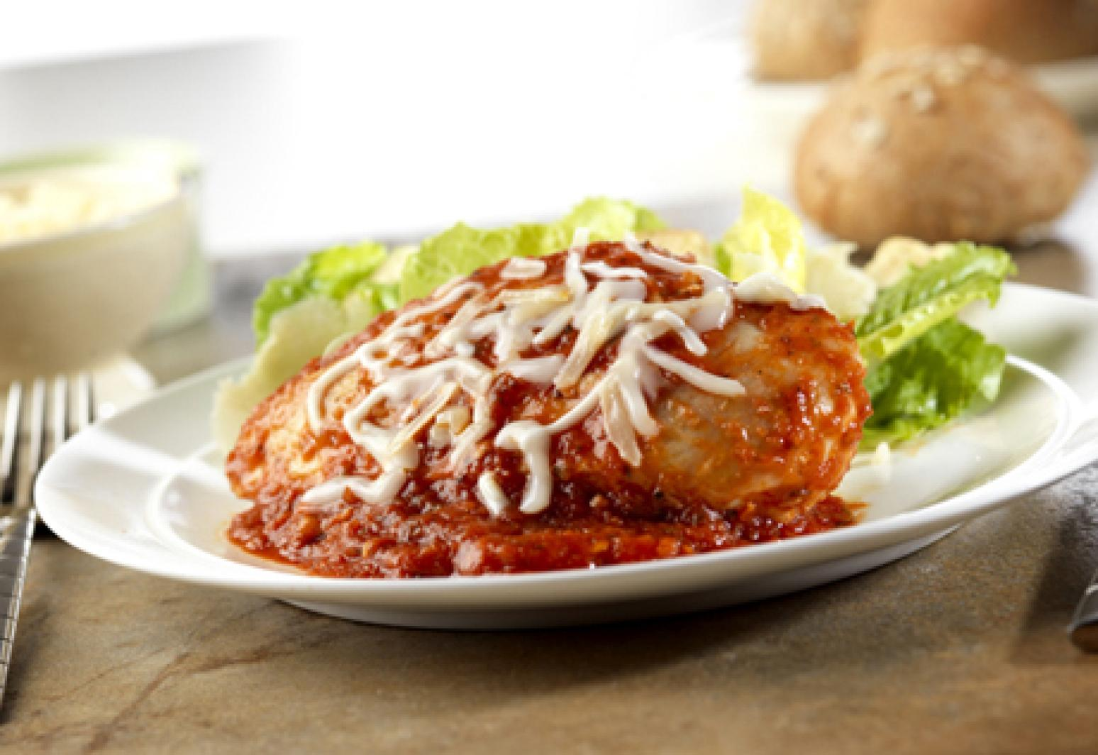 Campbells Kitchen GoodForYou Chicken Parmesan Recipe