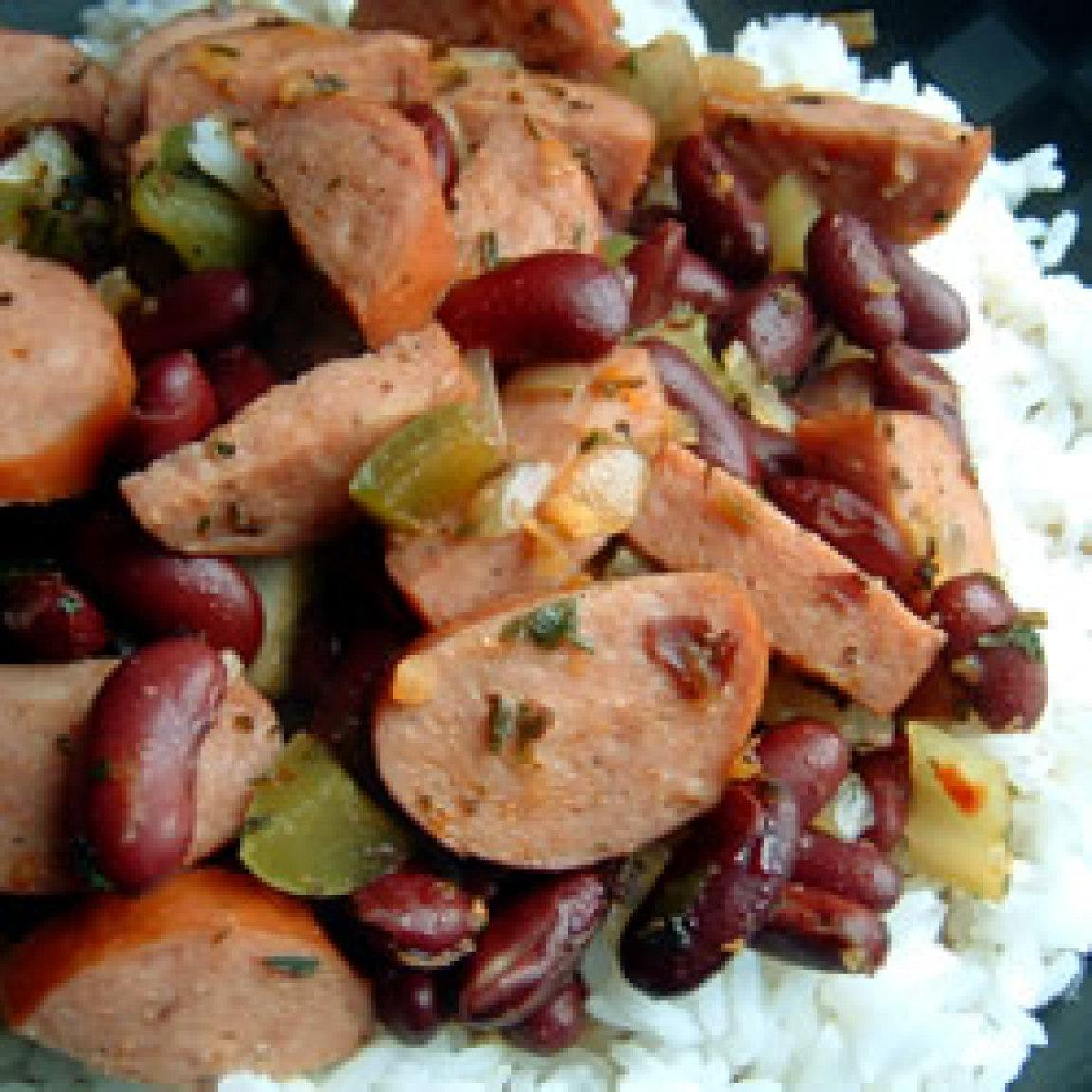 authentic louisiana red beans and rice recipe just a pinch recipes