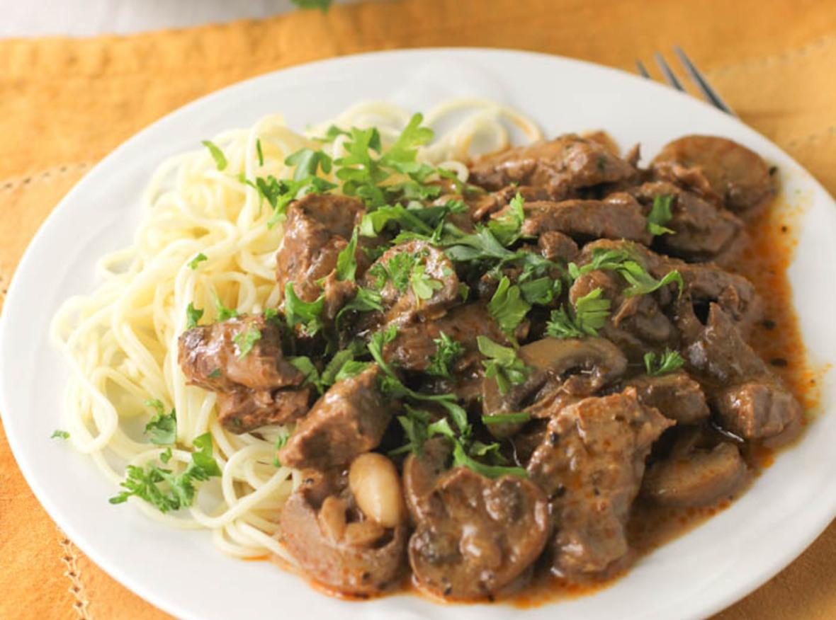 best beef stroganoff recipe 2 just a pinch recipes