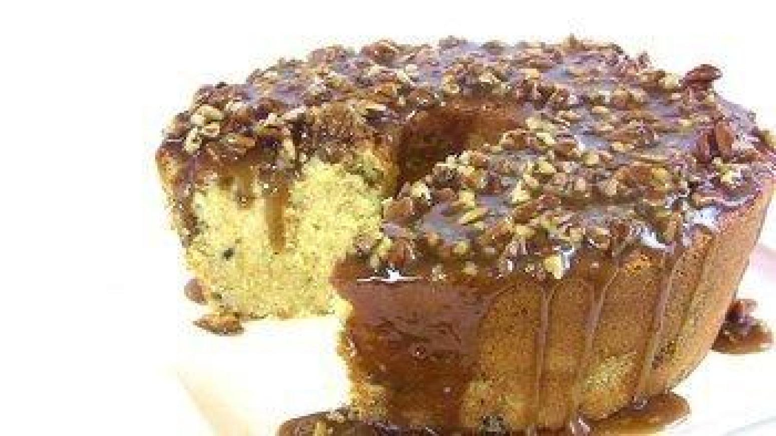 Chocolate Caramel Pecan Bundt Cake Recipe