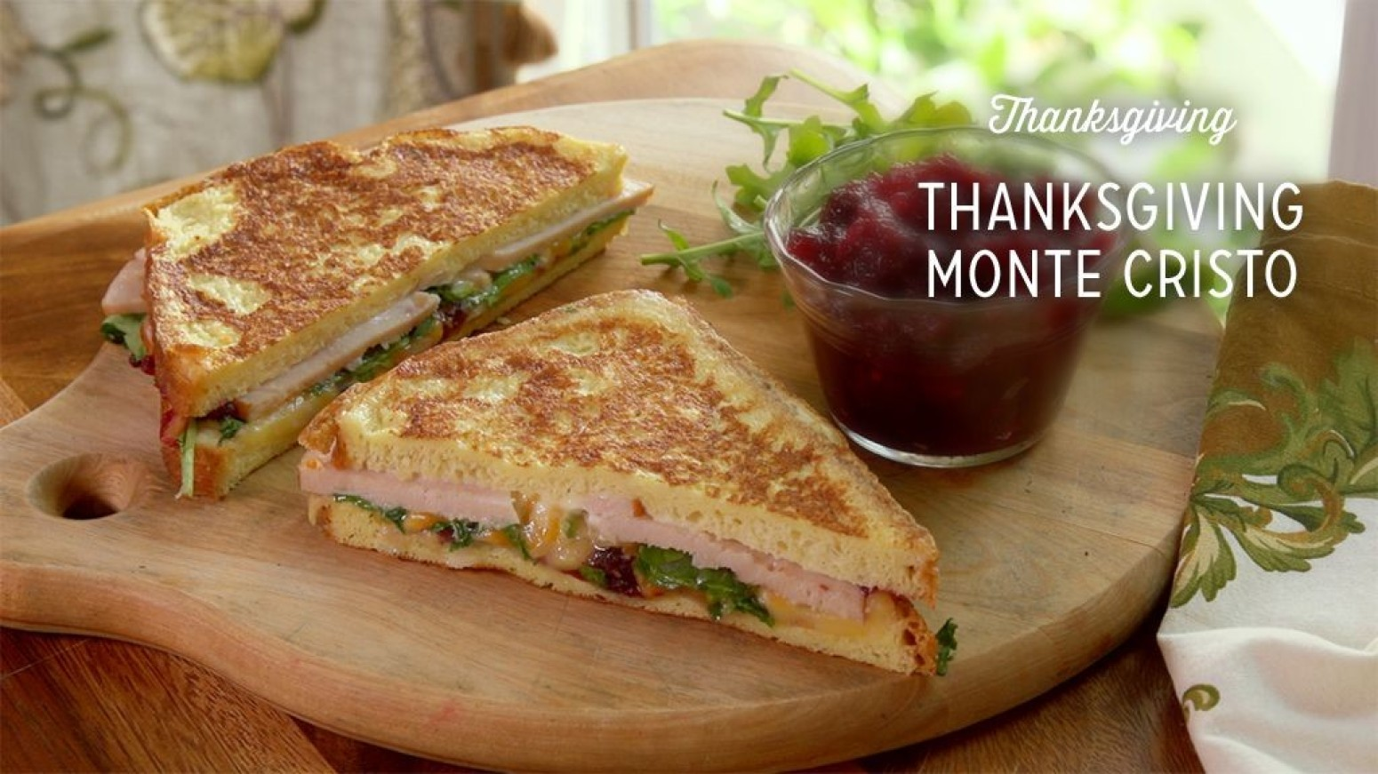 thanksgiving monte cristo recipe by paula deen just a pinch recipes