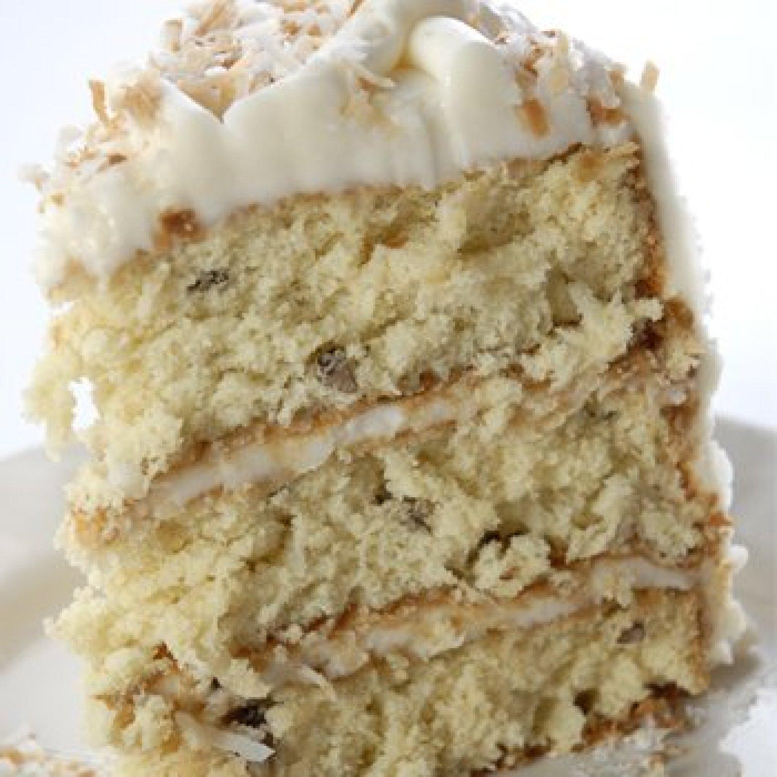 Decadent Italian Cream Cake Recipe Just A Pinch Recipes