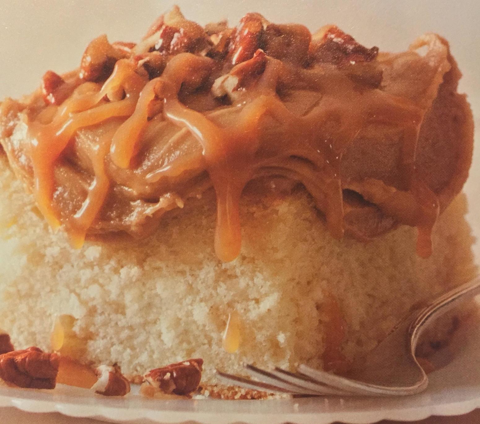 Easy Caramel Cake Recipe